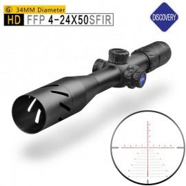 Прицел Discovery HD34 4-24X50 SFIR (УЦЕНЕННЫЙ ТОВАР)