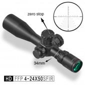Прицел Discovery HD 4-24X50 SFIR FFP