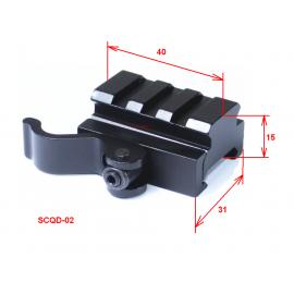 Переходник SCQD-02 Вивер->Вивер быстросъемный